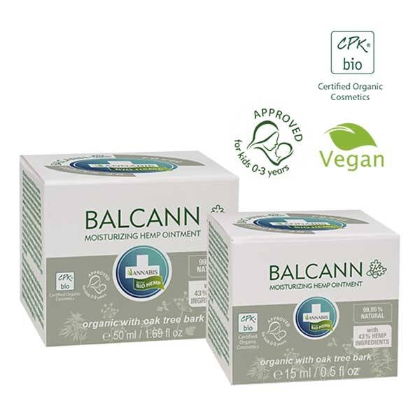 Crema Naturale con olio di canapa - Balcann Unguento