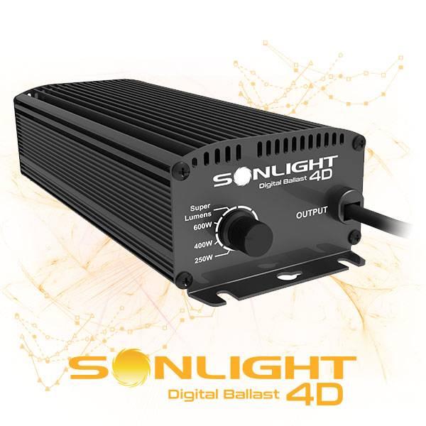 Alimentatore Elettronico SONLIGHT Digital Ballast 4D (Dimmer 250 / 400 / 600W / SL)