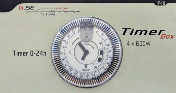 Quadro Elettrico GSE Timer Box II 4x600W