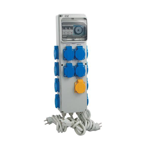 GSE Timer Box III 12x600W + Riscaldamento