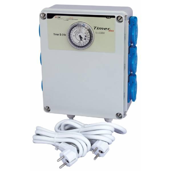 Quadro Elettrico con timer 6x600W