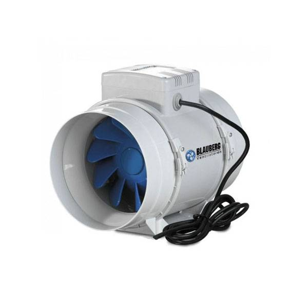 Aspiratore BLAUBERG BI-Turbo 15cm + cavo - 520m3/h