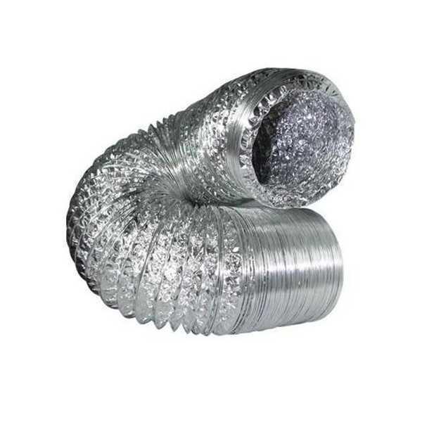 Condotta areazione flessibile alluminio Ø 12,5cm - 10 mt