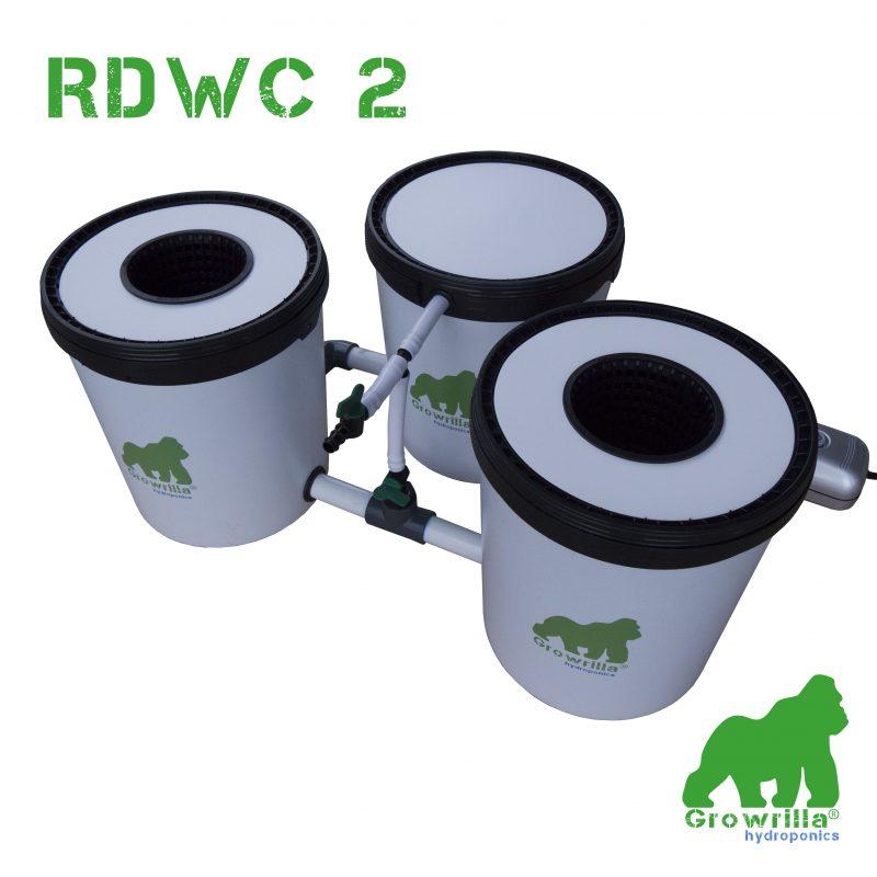 Sistema Idroponico RDWC 2 Growrilla