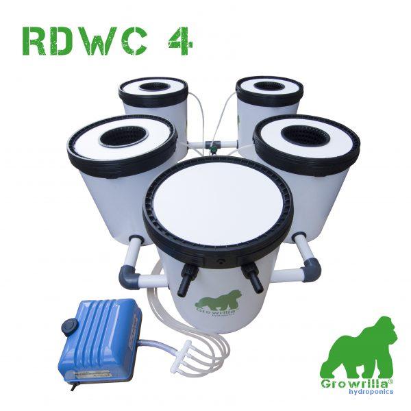 Sistema Idroponico RDWC 4 Growrilla